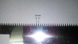 レーザーカット微細加工